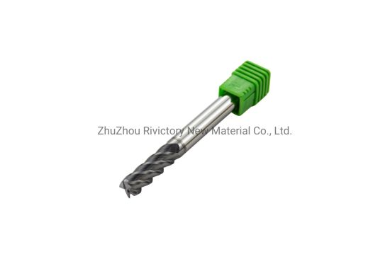 High Precision 3 Flutes Tungsten Steel Milling Cutter End Mill
